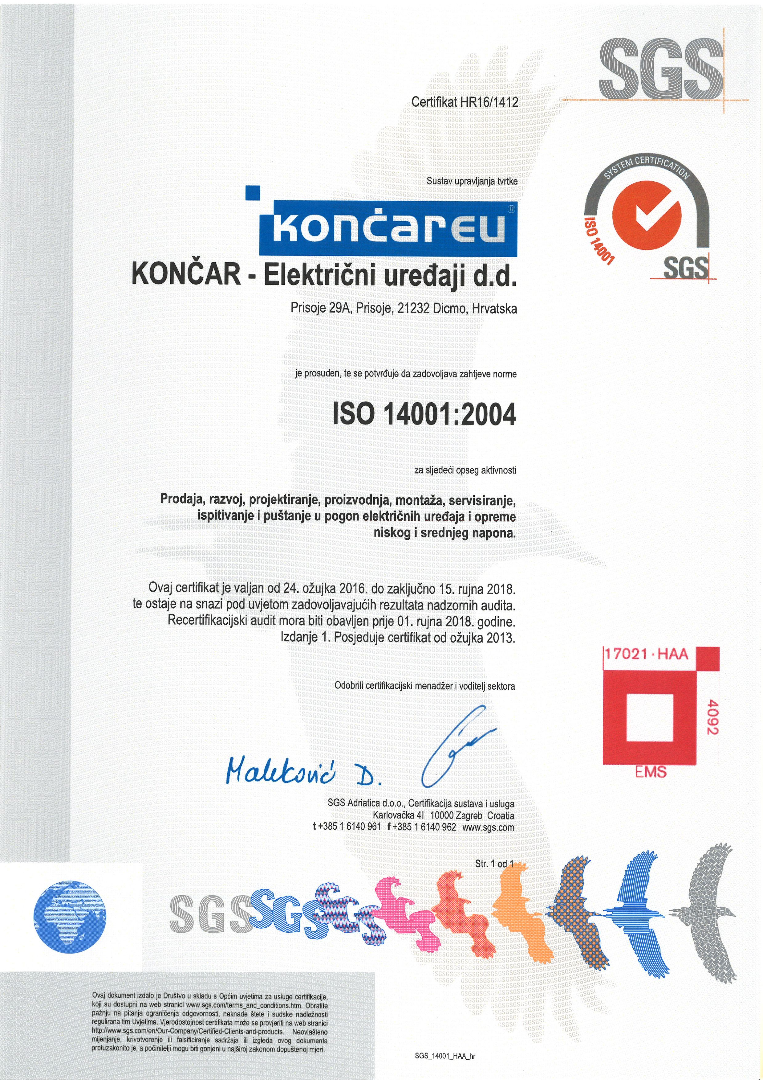 iso14001-2008 sgs_hr